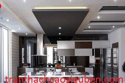la phông phòng bếp tại Binh Dương