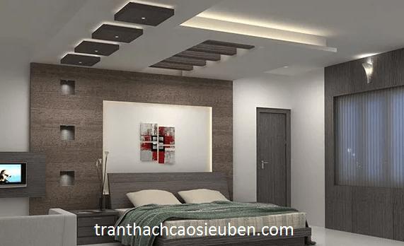 Mẫu trần phòng ngủ nhà chung cư