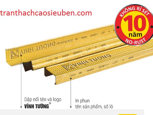 Nhận biết khung xương vĩnh tường Tika (m32) màu vàng