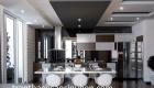 Xu hướng thiết kế trần phòng khách liền bếp đón trước 2021