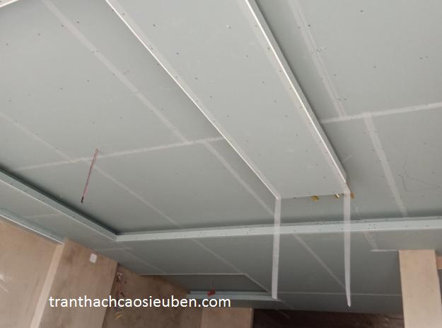 Thi công trần thạch cao chống ẩm tại TPHCM
