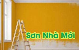 Quy trình và các bước sơn tường nhà mới đúng kỹ thuật
