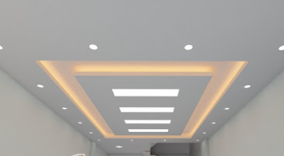 Trang trí trần nhà không mất nhiều tiền