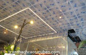 Báo giá trần nhựa thả dạng ô vuông tại Vinh Nghệ An