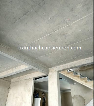 Trần thạch cao biệt thự ở TP Hà Tĩnh