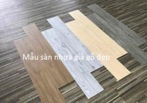 Các mẫu sàn nhựa giả gỗ đẹp