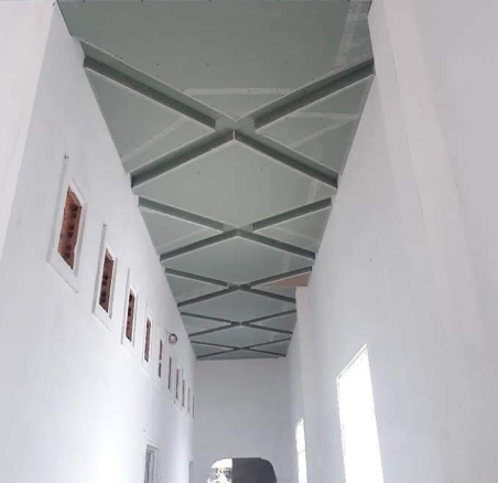 Mẫu trần thạch cao hành lang 2