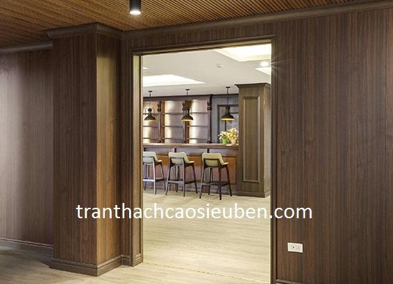 Mẫu nhựa ốp tường giả gỗ đẹp nhất