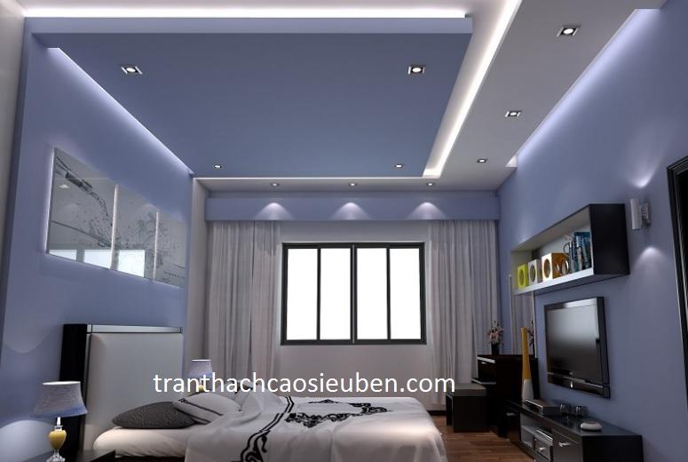 Mẫu trần phòng ngủ nhà biệt thự