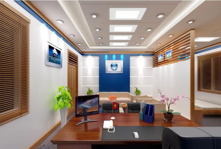 Thi công shop văn phòng tại Nghệ An giá rẻ