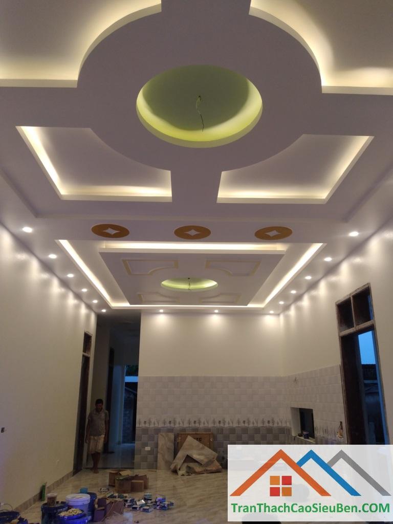 Phòng khách nhà anh hoàn ở Hà Nội