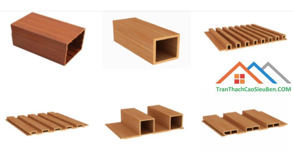 Quy cách hình dạng gỗ nhựa